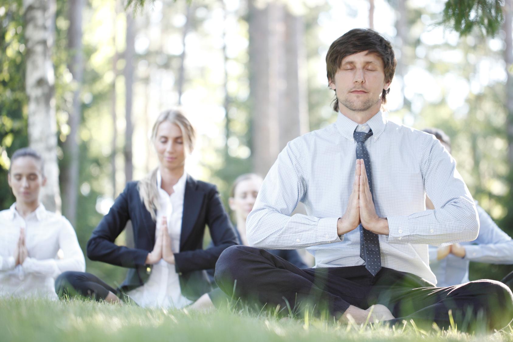 Mit ruhewerk für Entspannung und Glück für die Mitarbeiter sorgen.