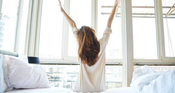 ruhewerk ist voll ausgeschlafen. Der Gesundheitstipp ausreichend Schlafen bei ruhewerk.