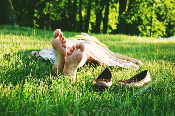 Outdoor Meditation mit ruhewerk